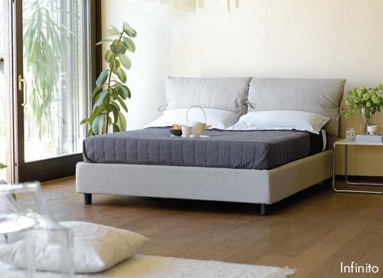 Letti contenitore letti fissi giroletto sommier - Spalliere letto in legno ...