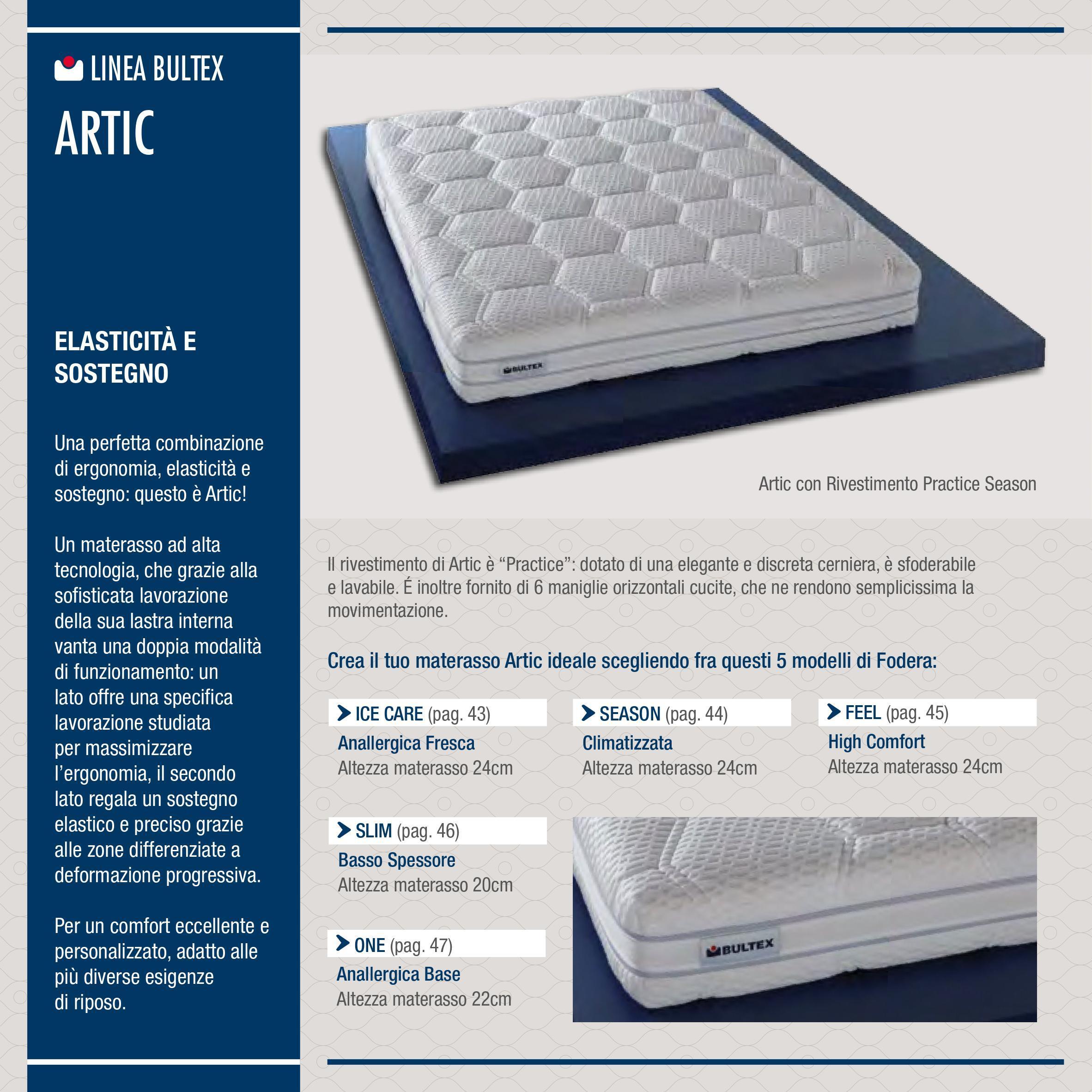 Bultex Materassi In Lattice.Materasso Bultex Artic Memory Foam Memory Foam Materassi