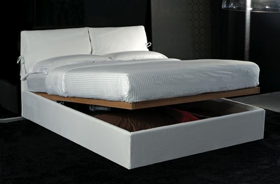 Letti contenitore letti fissi letti con rete ad alzata - Rete letto elettrica prezzo ...