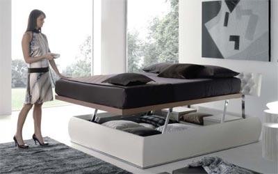 Letti contenitore letti fissi letti con rete ad alzata manuale o elettrica letti in - Rete per letto contenitore ...