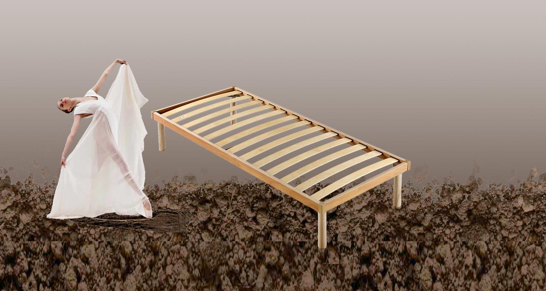 Rete a doghe in legno modello prateria disponibile in tutte le misure entra per la scelta - Gambe rete letto ...
