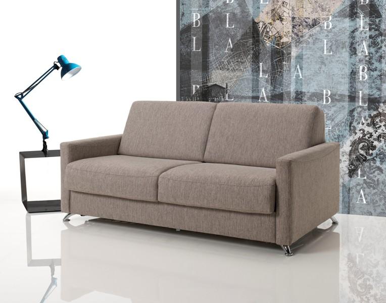 Divano letto con materasso alto 18 cm modello ambrogio poltrone relax e divani vendita - Divano letto con materasso alto ...